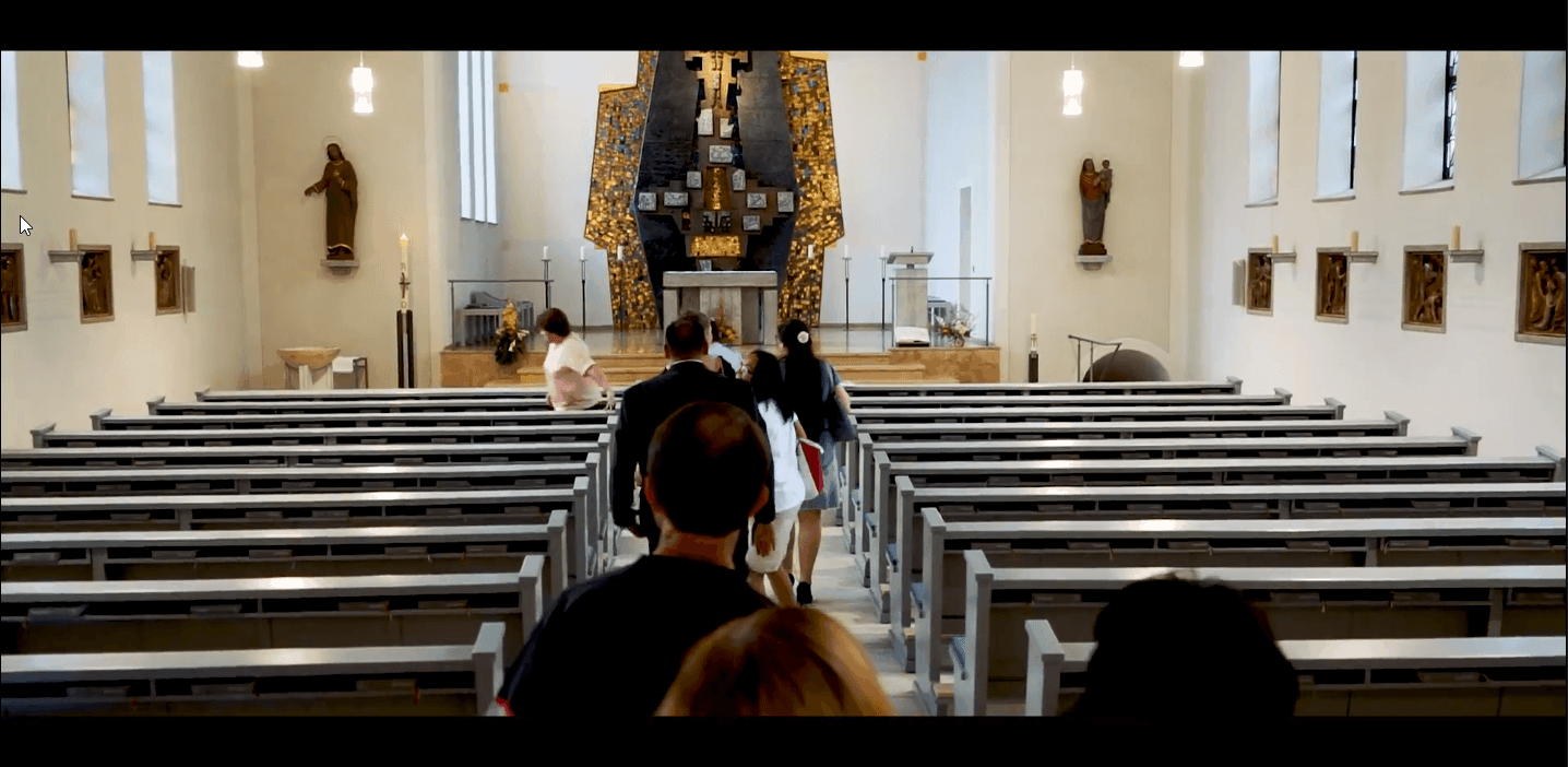 Afrikanische Taufe - Video